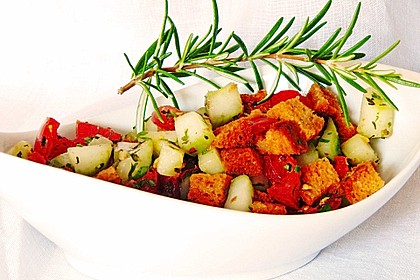 Italienischer Brotsalat - Panzanella speciale 1