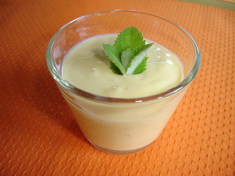 mango joghurt mit minze rezept mit bild von dodith. Black Bedroom Furniture Sets. Home Design Ideas