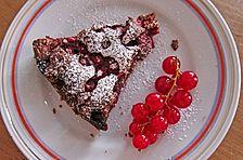Johannisbeerschokoladenkuchen
