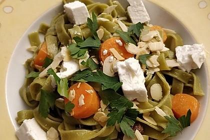 Orientalische Möhren-Pasta 4