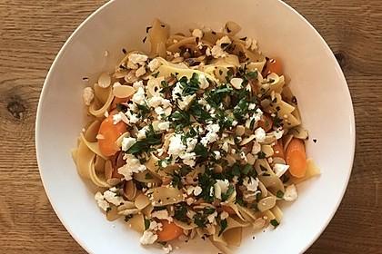 Orientalische Möhren-Pasta 2