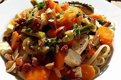 Orientalische Möhren-Pasta 5