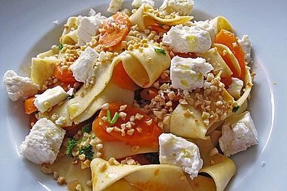 Orientalische Möhren-Pasta 1