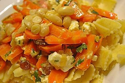 Orientalische Möhren-Pasta 9