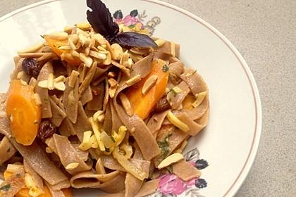 Orientalische Möhren-Pasta 6