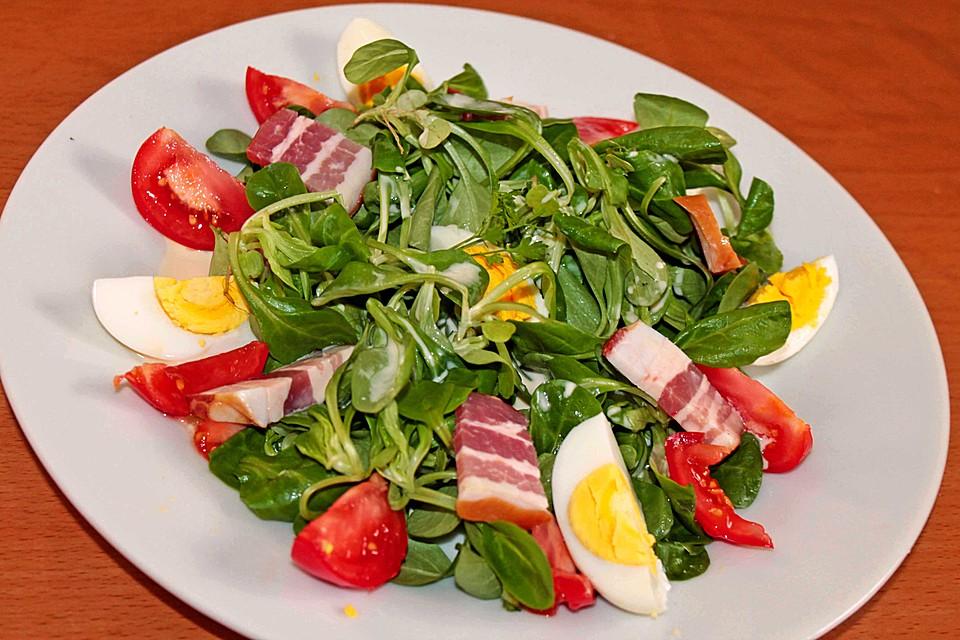 Honig Senf Sauce Salat : tomaten rapunzel salat mit honig senf sauce rezept mit bild ~ Watch28wear.com Haus und Dekorationen