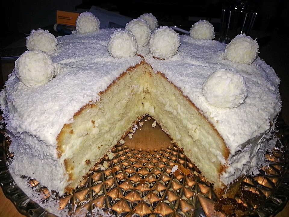 raffaellotorte mit cremef llung rezept mit bild. Black Bedroom Furniture Sets. Home Design Ideas