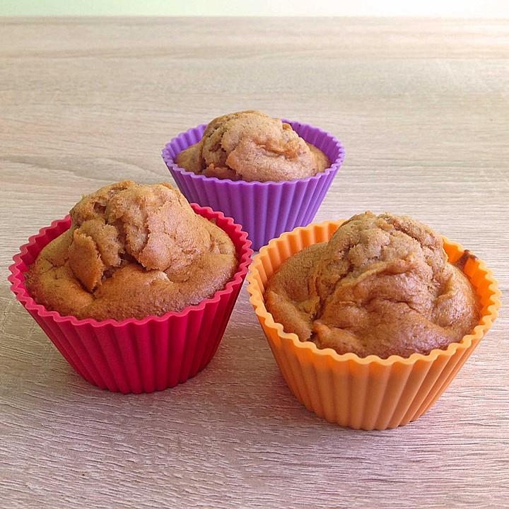 apfel bananen zimt muffins rezept mit bild von dakila. Black Bedroom Furniture Sets. Home Design Ideas
