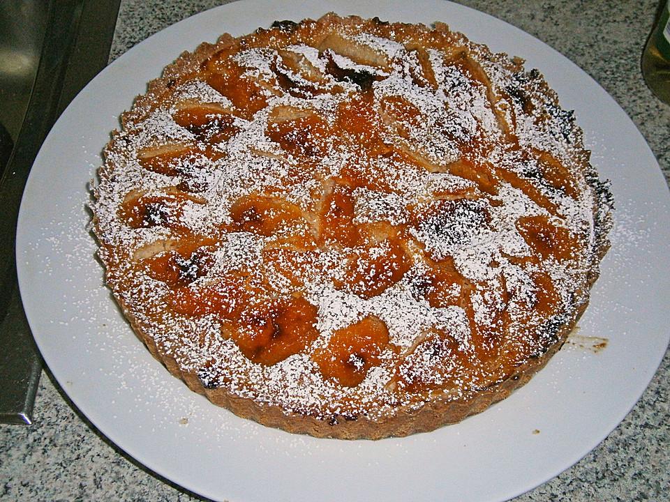 knusprige aprikosen tarte mit mandel vanillecreme rezept mit bild. Black Bedroom Furniture Sets. Home Design Ideas