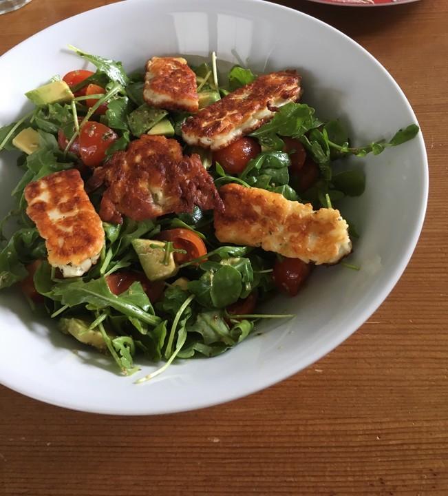Rucola salat vinegrette