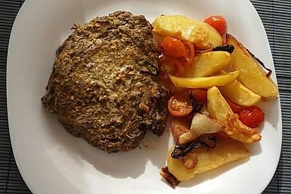 Roastbeef mit Senf-Kräuterkruste 2
