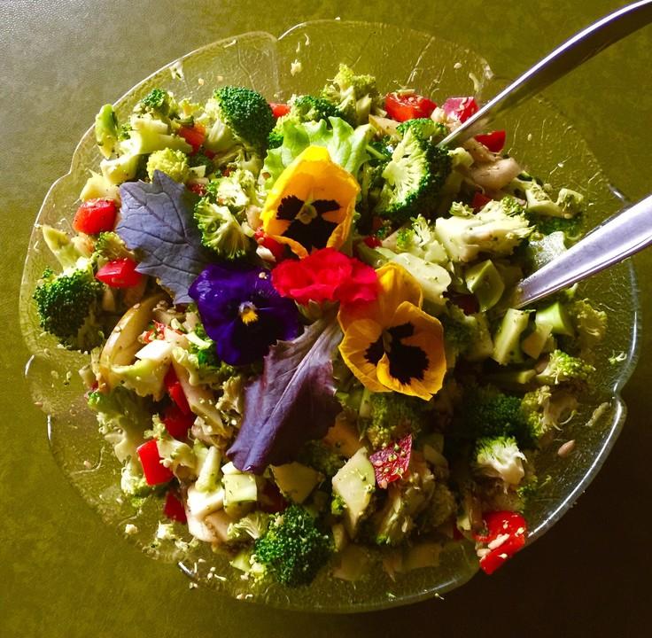 veganer brokkoli salat rezept mit bild von butzinger. Black Bedroom Furniture Sets. Home Design Ideas
