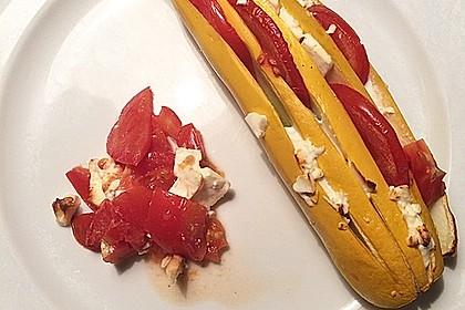 Zucchinifächer mit Feta 114