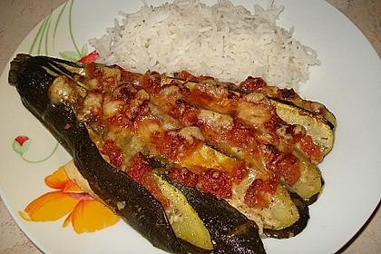 Zucchinifächer mit Feta 23
