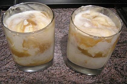 Apfel-Sahnejoghurt