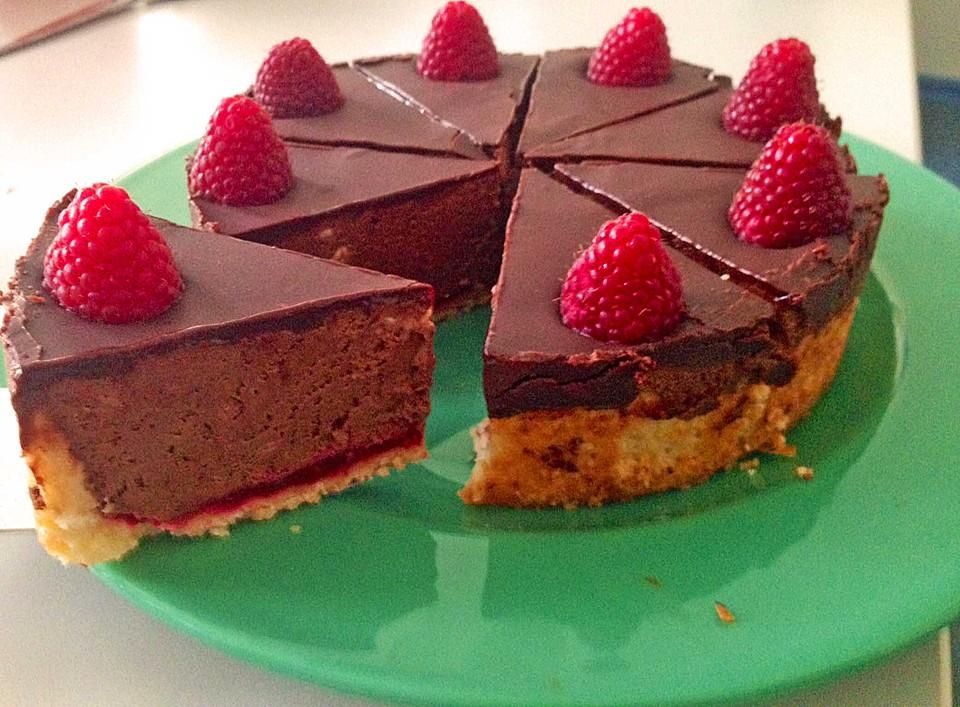 mousse au chocolat himbeer tarte rezept mit bild. Black Bedroom Furniture Sets. Home Design Ideas