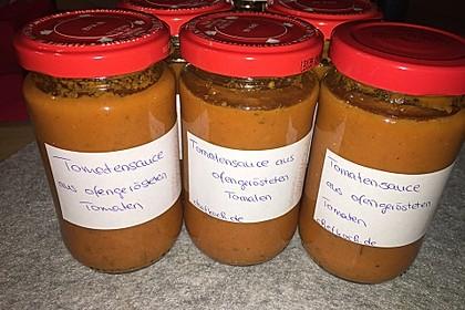 Tomatensauce aus ofengerösteten Tomaten 4
