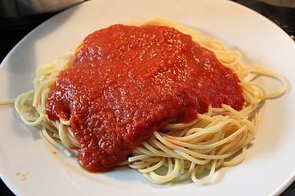 Tomatensauce aus ofengerösteten Tomaten 14