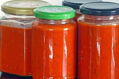 Tomatensauce aus ofengerösteten Tomaten 3