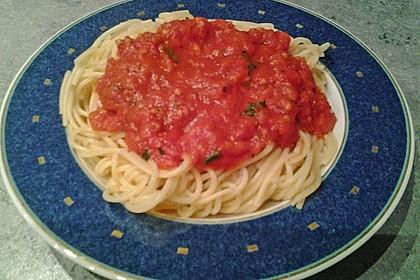 Tomatensauce aus ofengerösteten Tomaten 11