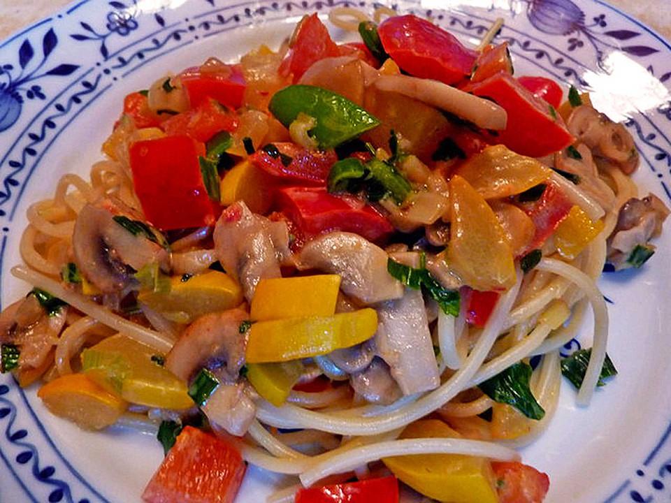 Sommerküche Schnell : Schnelle einfache gemüsepfanne von mimamutti chefkoch