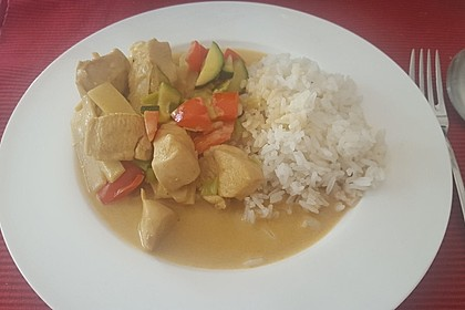 Low Carb Hähnchencurry 19