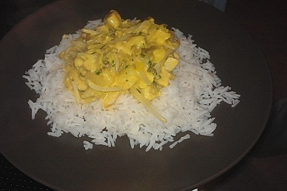 Low Carb Hähnchencurry 35