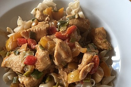 Low Carb Hähnchencurry 21