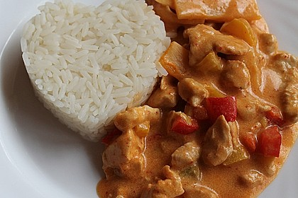 Low Carb Hähnchencurry 3