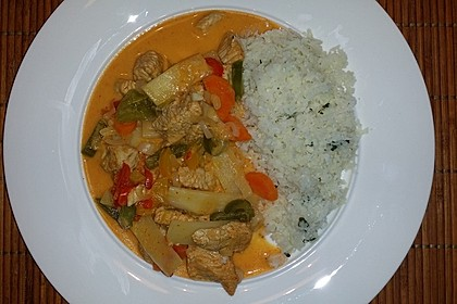 Low Carb Hähnchencurry 8