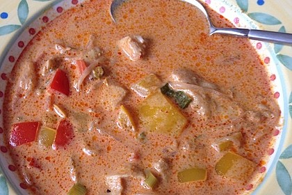 Low Carb Hähnchencurry 29