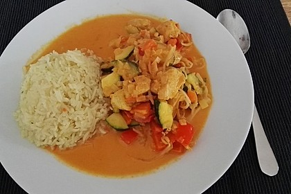 Low Carb Hähnchencurry 14