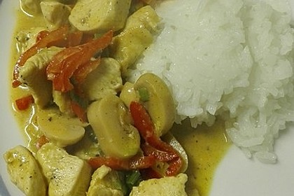 Low Carb Hähnchencurry 27