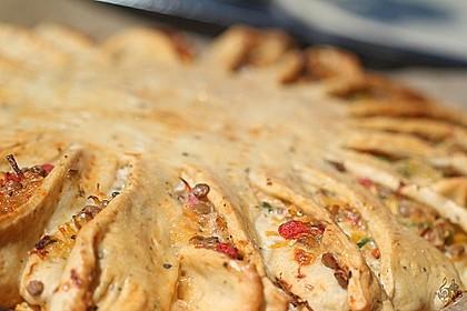 Sonnen-Pizza mit Hackfleisch 52