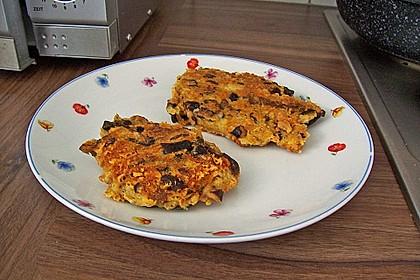 Tofu-Frikadellen mit Shiitakepilzen