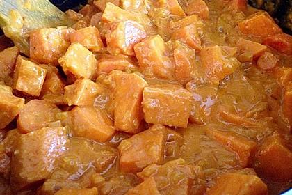 Süßkartoffel-Curry mit Kokos-Erdnuss-Soße 23