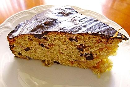 Veganer Schokoladen-Orangen-Kuchen