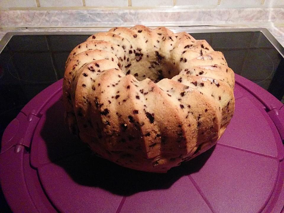 Veganer Schokoladen Orangen Kuchen 3