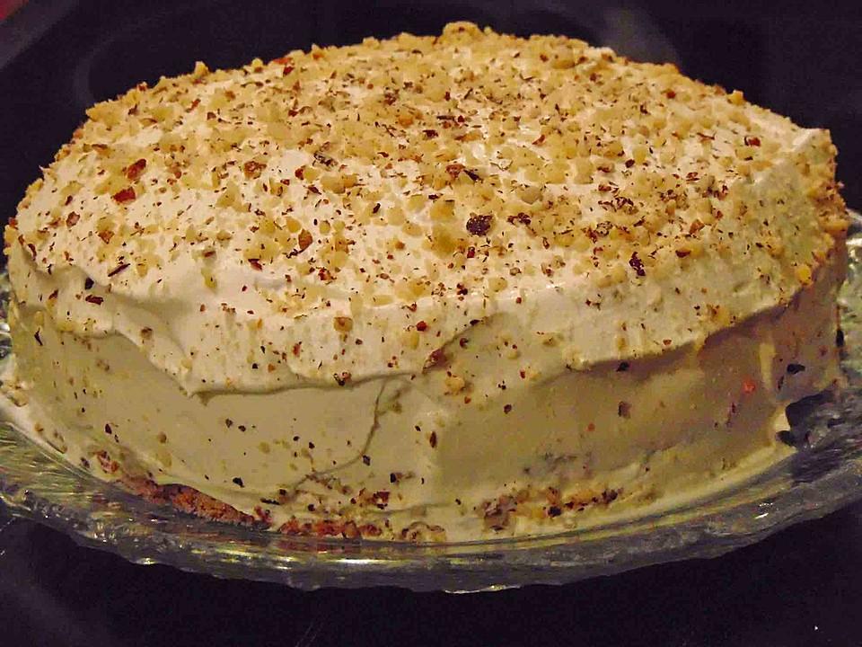 Dänische Schwarzbrot-Torte (Rezept mit Bild) von annewi ...