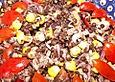 Linsensalat schwarz-rot-gold