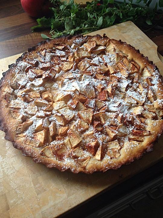 Veganer Apfelkuchen Mit Apfelmus Chefkoch De