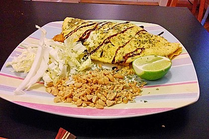 omelette pad thai omelette on closet cooking pad thai crepe omelettes ...