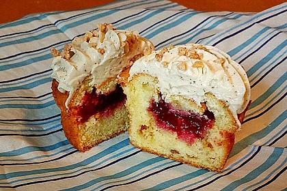 Frankfurter-Kranz-Cupcakes mit Créme fraîche 3