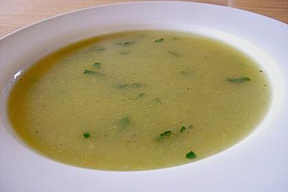 Kartoffel - Lauch - Suppe (Diät) 1