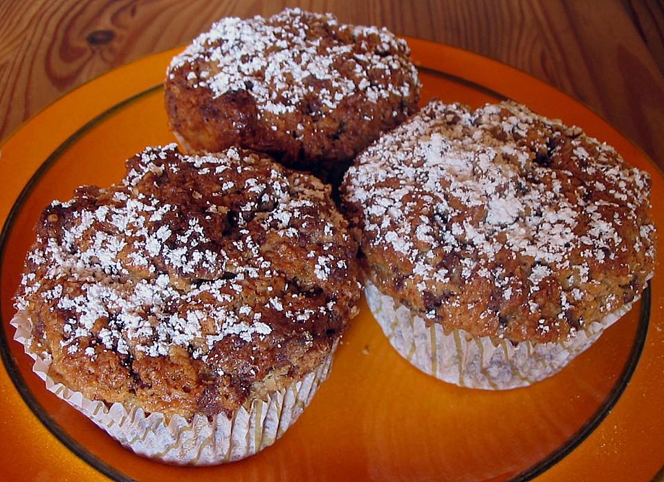 banana schokolade marzipan muffins rezept mit bild. Black Bedroom Furniture Sets. Home Design Ideas