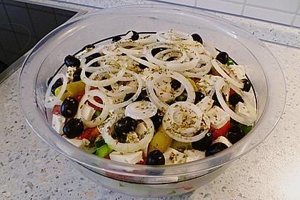 Griechischer Bauernsalat 24