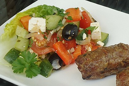 Griechischer Bauernsalat 9
