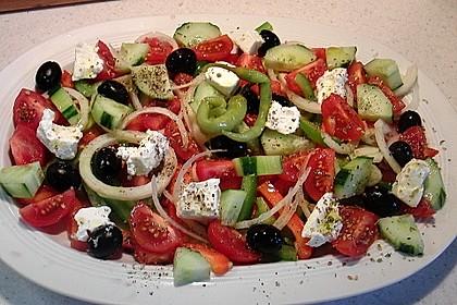 Griechischer Bauernsalat 3