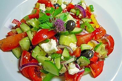 Griechischer Bauernsalat 4