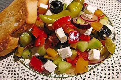 Griechischer Bauernsalat 13